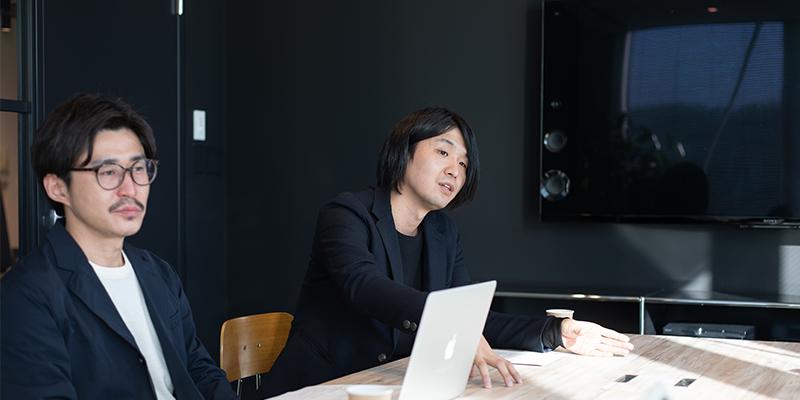 左:チーフデザイナー 吉田慎之介さん / 右:チーフデザイナー 山岸鑑曜さん