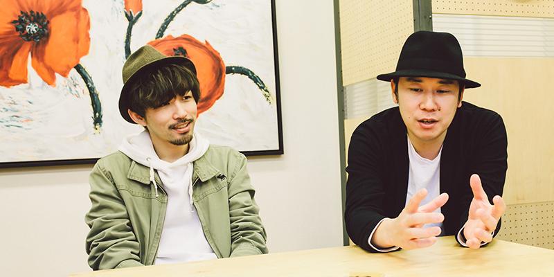 謙遜ラヴァーズ(左:伊藤翔磨さん、右:鈴木伸宏さん)