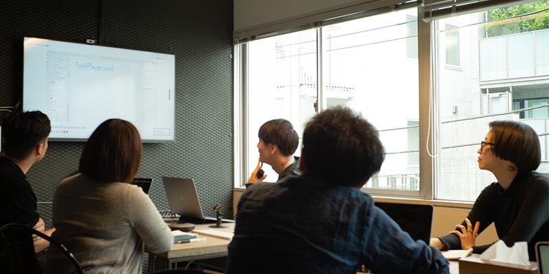 週1回開催されている勉強会の様子(画像提供:パノラマ)