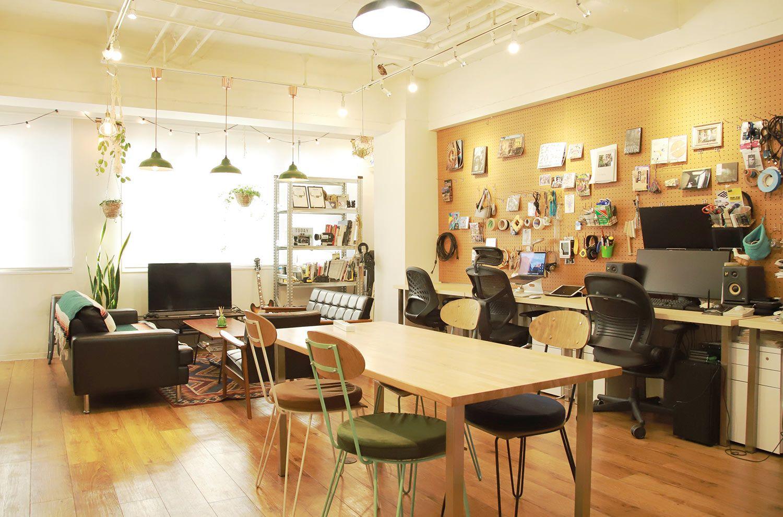 多種多様なクリエイターが集まるDADANのオフィス(画像提供:DADAN)