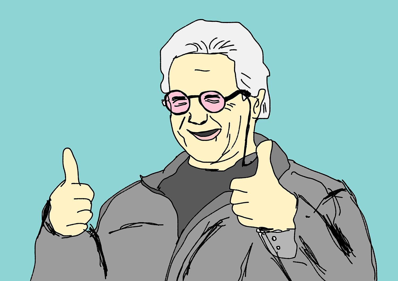いつかジョージに出くわして街で話しかけたら、「あの頃のこと覚えてるぜ」ってこんな笑顔で言ってくれるかな?