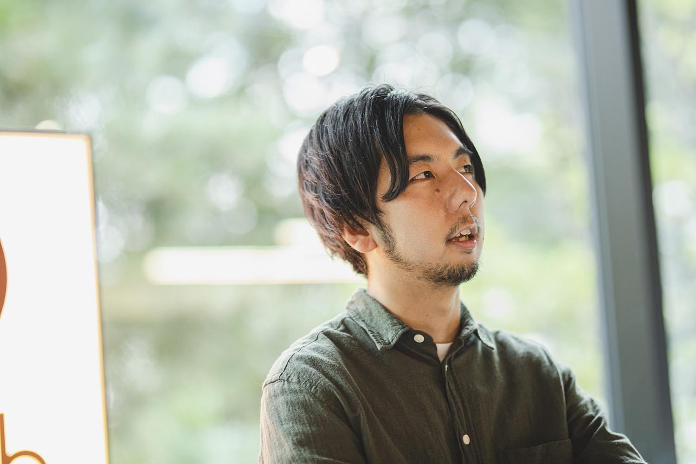 佐藤亮介さん。代表と苗字が被っているため、「亮さん」と呼ばれているそう