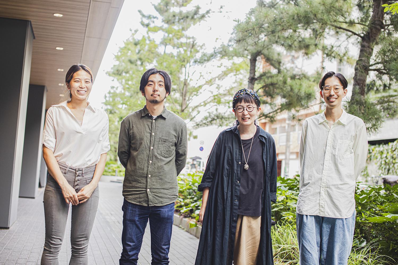 左から真野さん、佐藤亮介さん、サトウハルミさん、伊藤さん